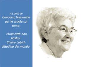 """Per le scuole. """"Una città non basta"""". Chiara Lubich cittadina del mondo."""
