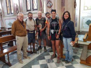 Sono stati consegnati ieri sera i Testimonium a quattro pellegrini lombardi e alla loro guida della Walden Viaggi.