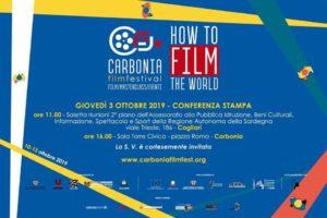 """Domani, giovedì 3 ottobre, verrà presentato il """"Carbonia Film Festival: How to film the world""""."""