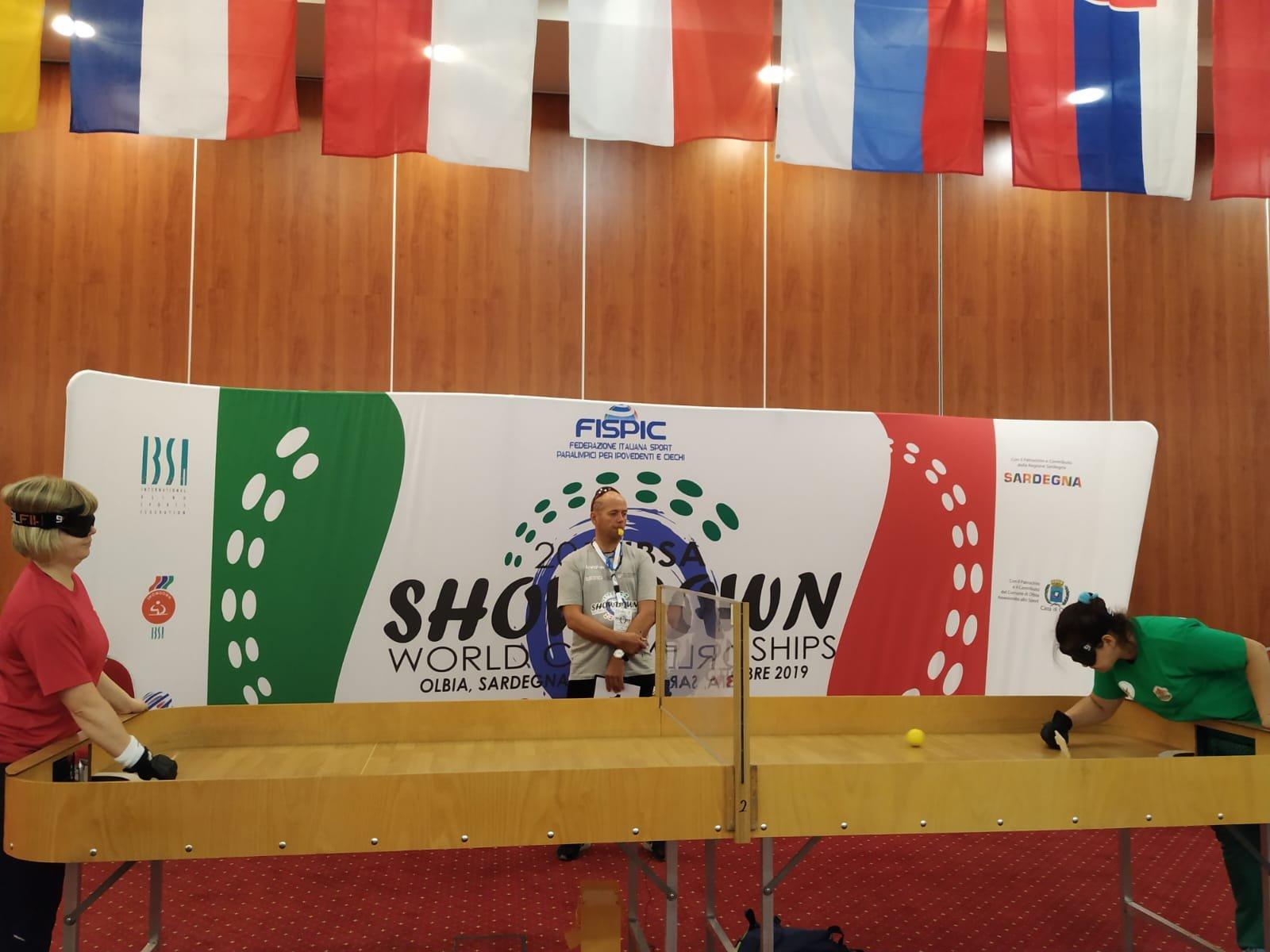 Italia protagonista nella prima giornata dei Mondiali IBSA si Showdown, al Geovillage di Olbia.