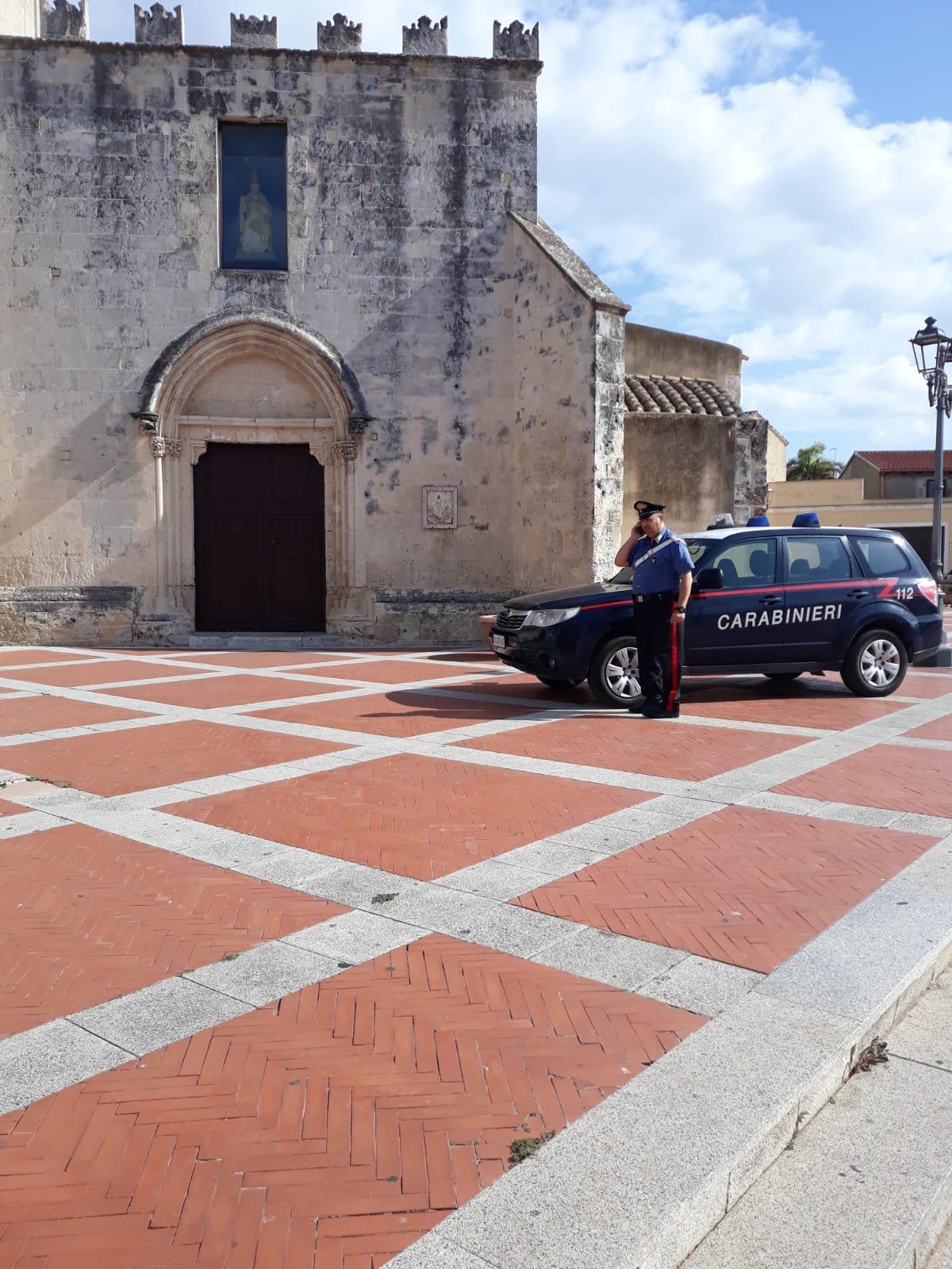 I carabinieri di Assemini hanno denunciato un 55enne per atti osceni compiuti nella chiesa di San Pietro, ad Assemini, durante lo svolgimento di una funzione religiosa.