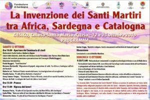 """Due giorni di dibattiti e studi, il 12 e 13 ottobre, a Gesico, dedicati a """"L'invenzione dei santi martiri tra Africa, Sardegna e Catalogna""""."""