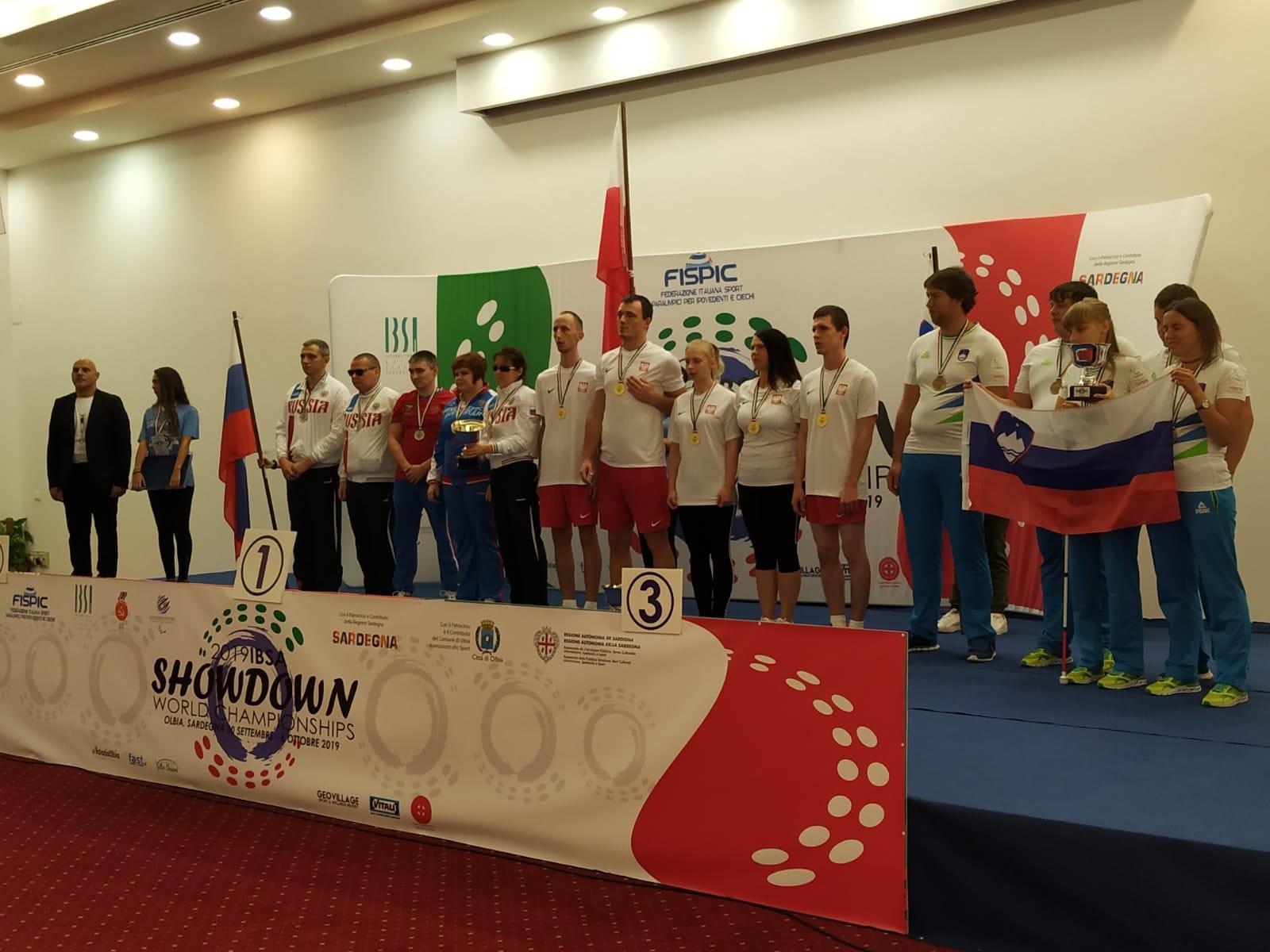 Polonia pigliatutto all'IBSA Showdown World Championship, conclusosi ieri sera al Geovillage di Olbia.
