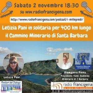 Questa sera, alle ore 18.30, Radio Francigena, l'emittente radiofonica nazionale più qualificata nella promozione dei cammini italiani, trasmetterà un servizio di 30 minuti sul Cammino Minerario di Santa Barbara.