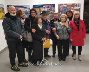 """Il pittore Ielmo Cara espone le sue opere nella personale """"Sono romantico"""" allestita presso la sala dei soci Euralcoop, a Carbonia, sino a sabato 23 novembre."""