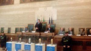 Le Coppe del Mondo a Cagliari per i 60 anni della Figc.