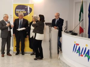 Sono stati consegnati questa mattina nella sede ENIT di Roma, i premi GO SLOW 2019 destinati ai migliori progetti italiani di mobilità dolce.