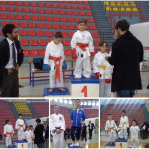 Si è svolta la scorsa settimana, al palazzetto dello sport di Carbonia, una gara regionale di karate organizzata dalla società scuola di karate di Musei.
