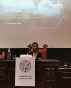 Valeria Satta (assessore regionale degli Affari generali): «L'impatto digitale sulla nostra società deve avvenire attraverso innovazione, ricerca e talento».