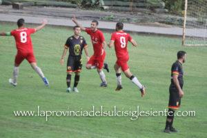 Nuova prova di forza del Carbonia nell'ottava giornata di andata del campionato di Eccellenza regionale: 3 a 1 all'Atletico Uri.