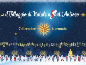 """Verrà inaugurato sabato 7 dicembre, il """"Villaggio di Natale a Sant'Antioco"""", tra atmosfere magiche e intrattenimento per i più piccoli."""