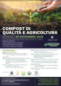 """Venerdì 29 novembre, la Sala Astarte della Grande Miniera di Serbariu ospiterà l'evento """"Compost di qualità e agricoltura»."""