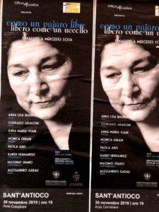 Il comune di Sant'Antioco celebra La Giornata Mondiale contro la violenza sulle Donne con uno spettacolo che andrà in scena sabato 30 novembre, alle 19.00, in aula consiliare.