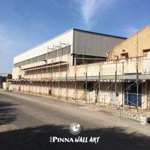 Fratelli Pinna, la tradizione diventa un murales.