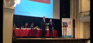 Il portacolori della Porto Cervo Racing Vittorio Musselli ha ricevuto un premio in occasione della settima edizione della Conferenza Regionale dello Sport. - La Provincia del Sulcis Iglesiente