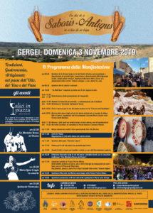 """Domani, domenica 3 novembre, prende il via, a Gergei, la settima edizione della manifestazione enogastronomica """"Saboris antigus"""" che coinvolge sette Comuni."""