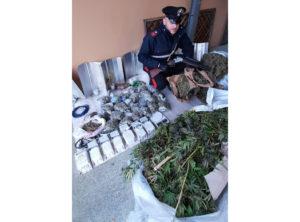 Prosegue sulla scia delle ultime indagini l'attività di contrasto al traffico e all'uso di sostanze stupefacenti dei carabinieri della compagnia di Dolianova, nella Trexenta.