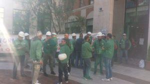 Ancora una giornata di mobilitazione per i lavoratori Eurallumina, a sostegno del lungo iter autorizzativo per il progetto di riavvio dello stabilimento di Portovesme.