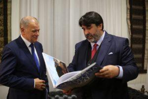 Il governatore Christian Solinas e gli assessori della Sanità e dell'Agricoltura hanno incontrato oggi il commissario europeo per la Salute e la sicurezza alimentare, Vytenis Andriukaitis.