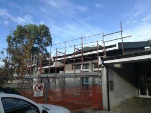 Sono terminati i lavori di adeguamento della copertura dell'Asilo Nido Comunale, in via Giovanni Falcone, a Iglesias.