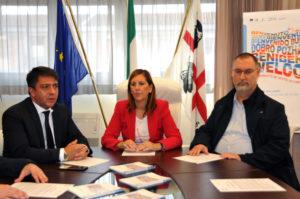"""L'assessore del Lavoro Alessandra Zedda ha presentato stamane """"Mediare per unire"""", il nuovo progetto sperimentale voluto dalla Regione in collaborazione con l'Aspal."""