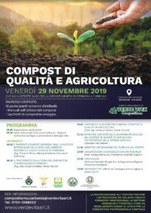 """E' in corso di svolgimento, nella sala Astarte della Grande Miniera di Serbariu, l'evento """"Compost di qualità e agricoltura""""."""
