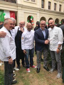 Lo chef Roberto Serra ha preparato per due settimane piatti e prodotti della tradizione isolana per i ristoranti più rinomati di San Paolo, in Brasile.