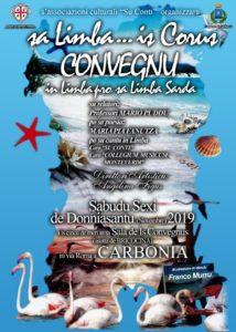"""Sabato pomeriggio, in via Roma, a Carbonia, si terrà il convegno """"Sa Limba…is corus"""", organizzato dall'associazione """"Su Conti""""."""