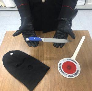 I carabinieri della Compagnia di Iglesias hanno arrestato un 21enne del posto, accusato del reato di tentata rapina.