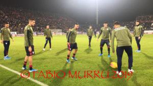 Cagliari in campo, alle 20.45, alla Sardegna Arena, contro la Sampdoria dell'ex Claudio Ranieri.