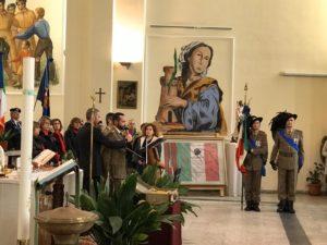"""Si è svolta stamane, a Teulada, la cerimonia per il 77° anniversario della """"Battaglia di Natale""""."""