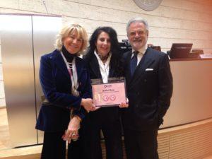 """La Fondazione Onda riconosce due Bollini Rosa all'AOU di Sassari ed una menzione speciale per l'impegno nella prevenzione, diagnosi e cura della """"depressione in un'ottica di genere""""."""