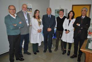 Il direttore generale dell'Aou di Sassari ed alcuni direttori delle strutture si sono vaccinati nell'ambulatorio della Direzione Medica.
