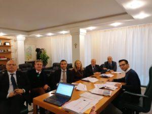 Gianni Lampis (assessore regionale dell'Ambiente): «Occorre monitorare costantemente l'andamento delle opere di risanamento ambientale».