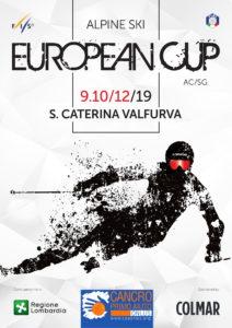 Coppa Europa di sci alpino targata Cancro Primo Aiuto a Santa Caterina Valfurva.