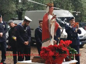 L'affascinante sito della vecchia miniera dismessa di Sa Duchessa, a Domusnovas, ha ospitato lo scorso 1 dicembre la cerimonia in onore di Santa Barbara.