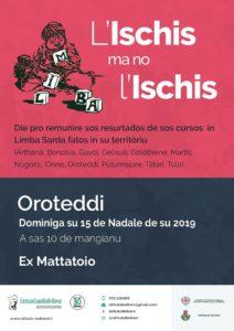 """""""L'ischis ma no l'ischis"""" domenica a Orotelli: con l'Is.Be grande festa per la lingua sarda."""