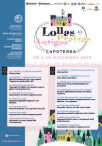 """Il 28 e 29 dicembre Capoterra svela le sue bellezze: tour alle Saline Contivecchi, artigianato, mostre, spettacoli ed enogastronomia alla manifestazione """"Lollas e Pratzas antigas""""."""