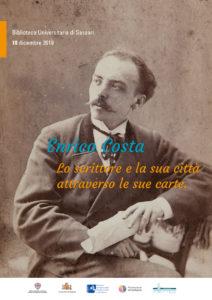 Il 18 dicembre, a Sassari, una giornata di studi organizzata dal Circolo culturale Aristeo d'intesa con la Biblioteca universitaria di Sassari.