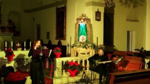 """A Quartu Sant'Elena, """"ll Cielo in una Culla"""" in Basilica."""