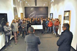"""Alla Stazione dell'Arte di Ulassai è stata inaugurata la mostra """"Lente sul mondo"""" di Maria Lai."""