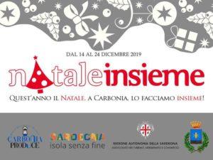 """Dal 14 al 24 dicembre, piazza Rinascita e via Gramsci, a Carbonia, ospiteranno la seconda edizione di """"Natale Insieme""""."""