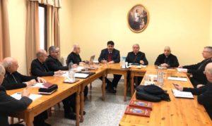 Il presidente della Regione Christian Solinas ha incontrato i Vescovi: «La Regione è pronta all'ascolto dei bisogni della collettività».