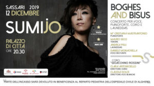 """""""Boghes and Bisus"""", la cantante coreana Sumi Jo a Sassari il prossimo 12 dicembre."""