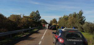 Incidente stradale frontale sulla SS 197 direzione San Gavino Monreale – Guspini. 1 ferito non in pericolo di vita.