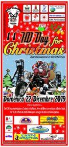 """Domenica 22 dicembre, a Carbonia, è in programma l'11ª edizione dell'""""HD Day for Christmas"""", un'esibizione motoristica a scopo benefico per i bambini bisognosi."""