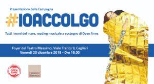 """A Cagliari parte la campagna """"Io Accolgo""""."""