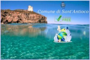 """Il comune di Sant'Antioco diventa """"Plastic Free""""."""
