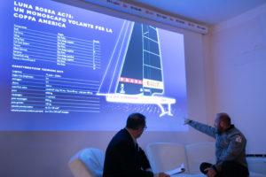 """Max Sirena, lo skipper e team director di Luna Rossa Prada Pirelli, ha inaugurato a Villa Satta il nuovo ciclo di open lesson """"Respect"""" allo IED Cagliari."""