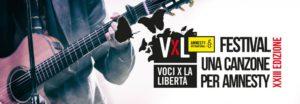 """Al via i lavori per il 23° Festival """"Voci per la libertà – Una canzone per Amnesty"""""""
